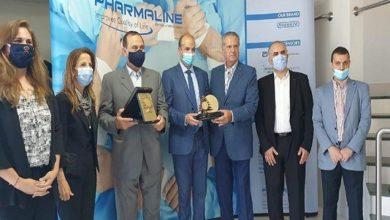 صورة وزيرا الصحة والصناعة تفقدا مصنع فارملاين للادوية