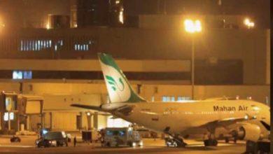 صورة مقاتلتان اميركيتان تعترضان طائرة ركاب إيرانية فوق الاجواء السورية