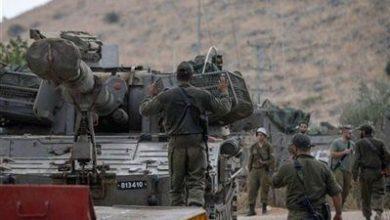 صورة تعزيزات عسكرية للعدو على حدود لبنان
