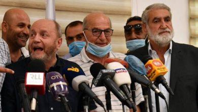 صورة بعد إعادة إنتخابه رئيساً للاتحاد العمالي.. الأسمر: إحذروا ثورة الجياع