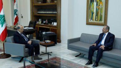 صورة طرابلسي عرض مع رئيس الجمهورية الاوضاع العامة
