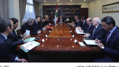 صورة لودريان أكّد التزام بلاده بمهام قوات اليونيفيل في لبنان من دون تغيير