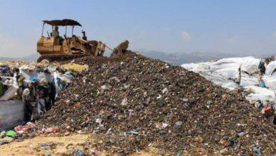 صورة إقفال مطمر الكوستا برافا آخر الشهر والنفايات إلى الشوارع مجدّداً