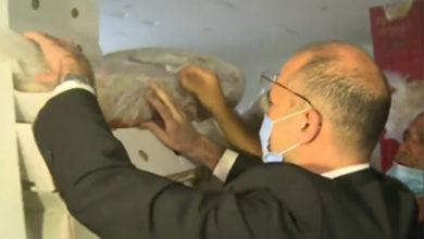 """صورة فضيحة اللحوم المنتهية الصلاحية… ووزير الصحّة: """"هيدا سرطان""""!"""