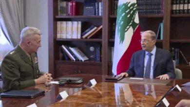صورة ماكنزي يكشف هدف زيارته إلى لبنان