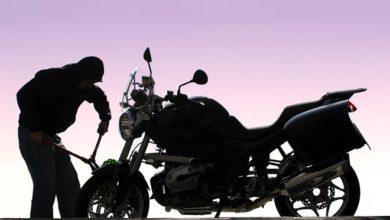 صورة سارق دراجات نارية في قبضة فصيلة درك المطار