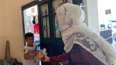 """صورة """"مرشدات المشاريع"""" تحتفل بالسنة الهجرية مع أطفال الكرنتينا"""