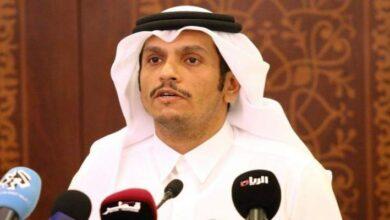 صورة وزير خارجية قطر من بعبدا: هناك حاجة للاستقرار السياسي والاجتماعي