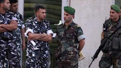 """صورة توقيف سوري """"داعشي"""" كان يخطط لإستهداف الجيش وقوى الأمن"""