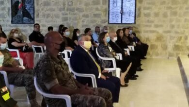 صورة حركة لبنان الشباب تحيي عيد الجيش .. انه خشبة الخلاص