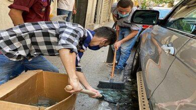 صورة كشافة المشاريع تواصل حملة إغاثة متضرري انفجار بيروت