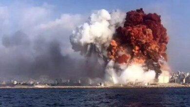صورة «حرب نووية» وقعت في بيروت