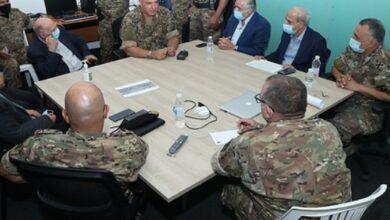 صورة قائد الجيش: علينا توحيد جهودنا للخروج من هذه الأزمة