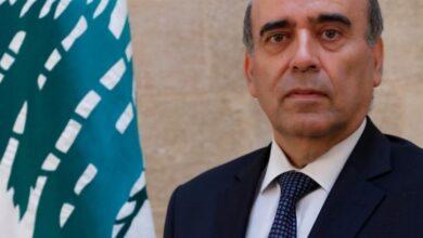 صورة وهبه ممثلاً للبنان في اجتماع مجلس جامعة الدول العربية