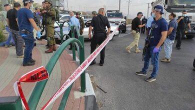 صورة جرح جنديين إسرائيليين بعملية دهس في نابلس