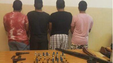 صورة شعبة المعلومات تكشف ملابسات جريمة أبي سمراء