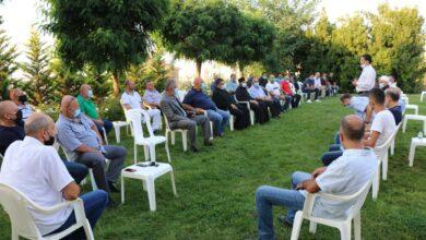 صورة وفد من بلدة مجدلبعنا زار منزل رئيس بلدية بحمدون.. ولقاء مصالحة بحضور غريزي