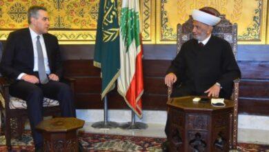 """صورة أديب زار المفتي: بهمّة """"الأوادم"""" نتوصل إلى تشكيل الحكومة"""