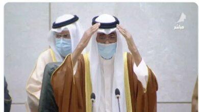 صورة نواف الأحمد الصباح أدّى اليمين الدستورية أميرًا للكويت