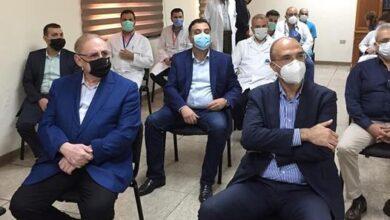 صورة النائب البستاني شارك في استقبال وزير الصحة بمستشفى عين وزين