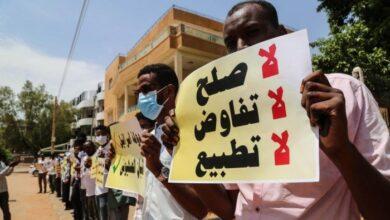 """صورة تطبيع السودان مع """"إسرائيل"""" استخفاف بالموقف الشعبي الرافض"""