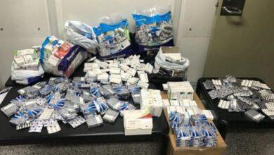 صورة إحباط عملية تهريب أدوية مدعومة الى تركيا ومصر
