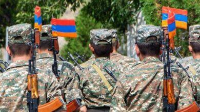 صورة أرمن لبنانيون يشاركون في الحرب ضد أذربيجان