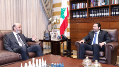 صورة هل من لقاء بين جعجع والحريري؟