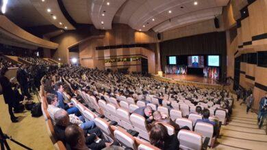 صورة مؤتمر النازحين في دمشق تبنى خطة الحكومة اللبنانية