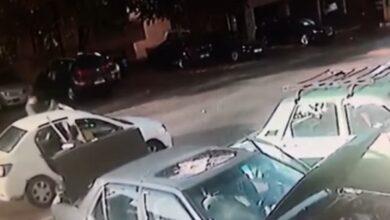 صورة بالفيديو- هكذا هرب مساجين سجن بعبدا بسيارة الأجرة