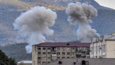 صورة خارجية أرمينيا:  القوات الأذربيجانية إستهدفت  مدينتين بالقنابل العنقودية