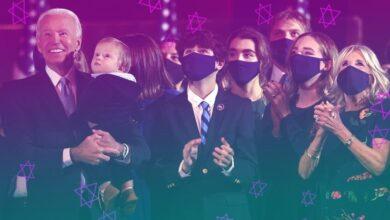 صورة بايدن أيضاً لديه أحفاد يهود: هل يزيده ذلك صهيونية؟