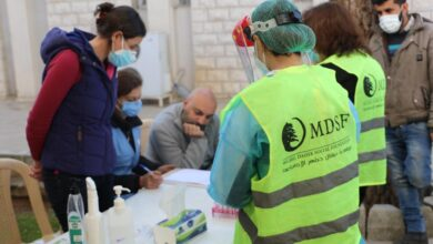 صورة مؤسسة ميشال ضاهر الاجتماعية نظمت حملة فحوصات PCR عشوائية في زحلة