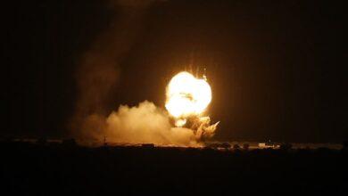 صورة اعتداءات إسرائيلية على قطاع غزة استهدفت مواقع للمقاومة