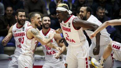 """صورة منتخب لبنان لـ""""السلة"""" يدخل مرحلة التحضيرات الأخيرة"""
