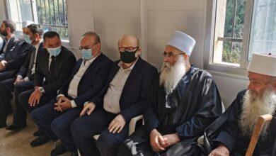 صورة جنبلاط غاب.. وحضور لافت للصايغ الى جانب وهاب وممثل أرسلان