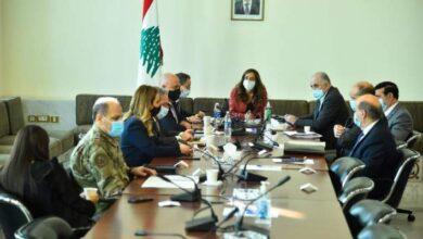صورة لجنة كورونا الوزارية أجرت تقييما للإجراءات التي اعتمدت في الاسبوعين الماضيين
