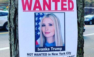 صورة ايفانكا ترامب غير مرغوب بها في نيويورك