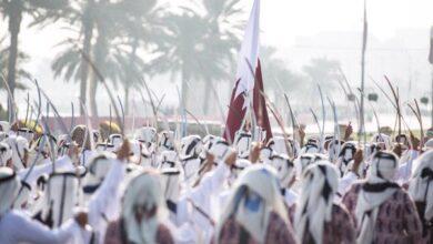 صورة قطر تحتفل بيومها الوطني..وشعار 2020 يثير تفاعلاً بين النشطاء