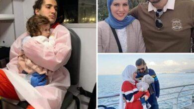 """صورة والدة الضحية حسن: """"انتظرته وزوجته ولم يأتيا.. وهذا وضع حفيدتي جودي"""