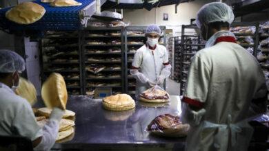 صورة وقف توزيع الخبز مستمر حتى إشعار آخر