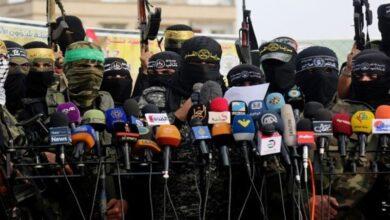 """صورة للمرة الأولى..  مناورات عسكرية مشتركة لفصائل """"المقاومة الفلسطينية"""""""