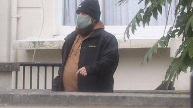 صورة المتحدث باسم بن لادن يظهر في لندن
