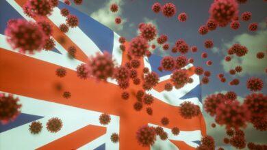 صورة الفيروس البريطاني يجتاح لبنان؟