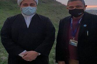 صورة السفير سبيتي يشكر العلامة هزيمة على إستقباله وكرمه وحسن اخلاقه