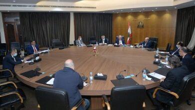 صورة لجنة الاقتصاد برئاسة البستاني ناقشت البطاقة التمويلية وخطة ترشيد الدعم