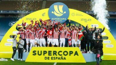 صورة بلباو بطلاً لكأس السوبر على حساب برشلونة