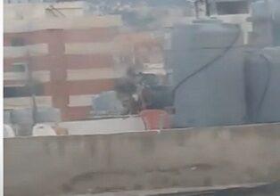 صورة بالفيديو – إشتباكات وإطلاق نار كثيف في مخيم برج البراجنة