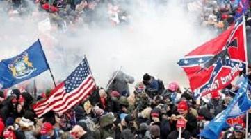صورة الشرطة الأميركية: مقتل 4 أشخاص في اشتباكات الكونغرس