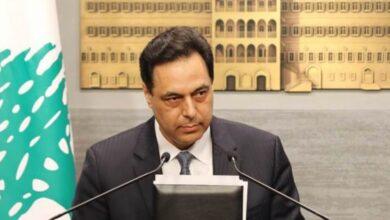 صورة دياب عاد الى متابعة لقاءاته بعدما جاءت نتيجة pcr سلبية
